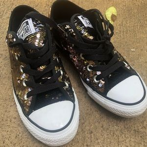 🎊🎉🍾HP🎊🎉🍾Sequined CONVERSE sneakers